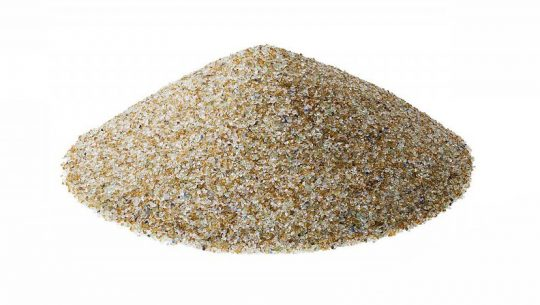 Crushed Glass for Sandblasting