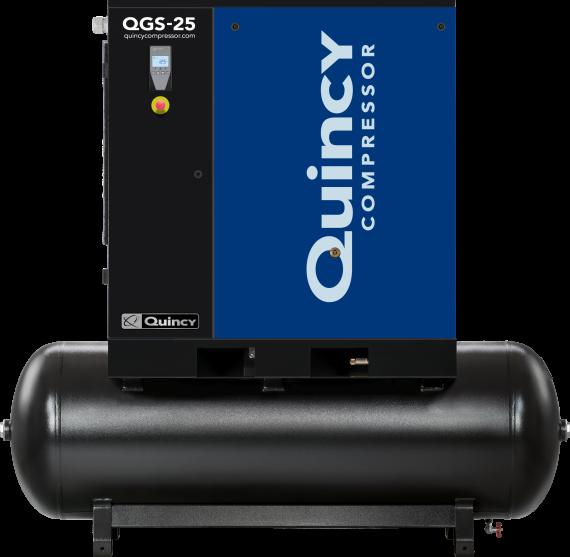 Quiny QGS 25 Horsepower Rotary Screw Air Compressor