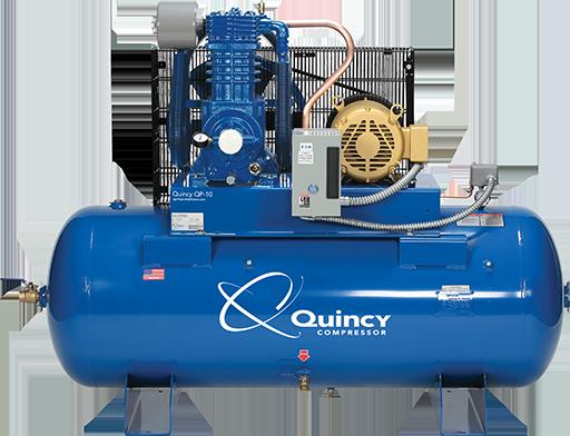 Quincy-QP-10-PRO-Hori zontal-reciprocating air compressor