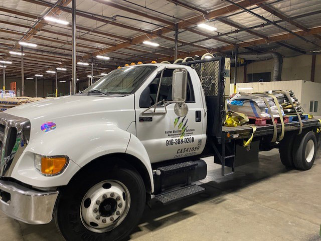 Sacramento Third Party Logistics and Delivery Truck